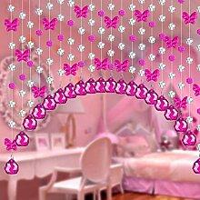 Bead Türvorhang- Tür Vorhang Kristall Perlen