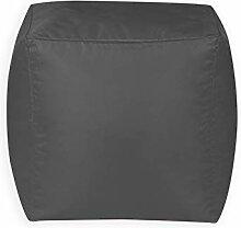 Bean Bag Bazaar Cube Sitzsack Hocker - 38cm x