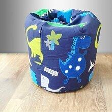 Bean Bag Sitzsack Dinosaurier im Dunkeln