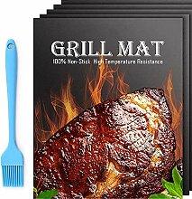 Bear home BBQ Grillmatte – 5 Stück robuste BBQ