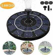 Bearsu - Solarbrunnen, 2,5-W-Solarteichpumpe,