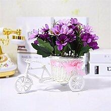 Beata.T Künstliche Blumen Set Float Wohnzimmer Dekoration Dekoration Tisch Floral Fake Blumen, L