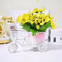 Beata.T Künstliche Blumen Set Float Wohnzimmer Dekoration Dekoration Tisch Floral Fake Blumen, Ra