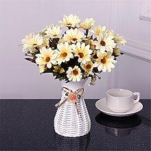Beata.T Künstliche Blumen Set Garten Orchidee Ornamente Wohnzimmer Tisch Couchtisch Platziert Plastik Gefälschte Blume Blume Blume Vergossen Vergossen, I