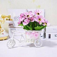 Beata.T Künstliche Blumen Set Schwimmer Wohnzimmer Dekoration Dekoration Tisch Floral Fake Blumen, S