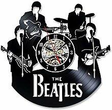 Beatles 3D Art Vinyl Record Wanduhr - Geschenk