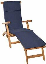 Beautissu Auflage für Deckchair LoftLux DC