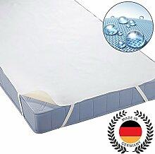 """Beautissu Matratzen-Schoner BEAUTECT 160x200cm, 4 Eckgummis, wasserdichte Matratzen-Auflage """"Made in Germany"""