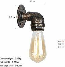 BEAUTOP Retro Industrielle Wandlampe für Haus,