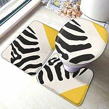Beauty-Design Zebra Abstraktes 3-teiliges