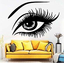 Beauty Eye Wandkunst Aufkleber Aufkleber