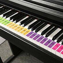 beautygoods Klavier Tastatur Aufkleber Für 88