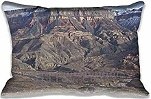 Beaver Dam Mountains Wilderness Pillow Cases Protector 20x30 inch Sofa Bed Home D¨¦cor Standard Size Pillow Covers(Twin Sides)