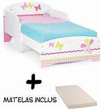 BEBEGAVROCHE Babybett für Mädchen,