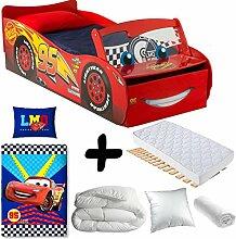 BEBEGAVROCHE Premium Bett Flash McQueen mit