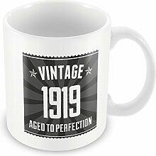 Becher 1919 Geburtstag 19, Schwarz