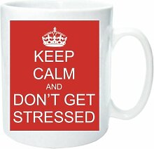 Becher 2131 Don 't Get beanspruchte Keep Calm and Carry On Old WW2 Werbung Fun Funny Retro Qualität Foto Tasse