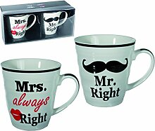 Becher_242 - Mr rechts Mrs always righ