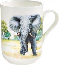 Becher ANIMALS OF THE WORLD Elefant für 340ml weiß Maxwell & Williams (10,95 EUR / Stück)