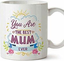 (Becher auf englisch) Du bist die beste Mutter 1