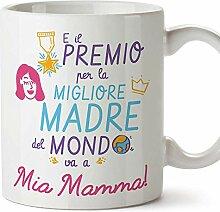 (Becher auf Italienisch) Best Mother Award 3