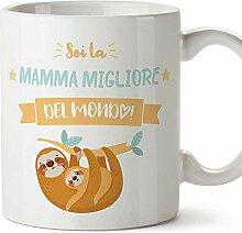 (Becher auf Italienisch) Du bist die beste Mutter 3