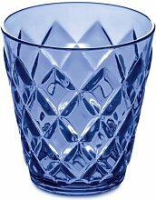 Becher Crystal S transparent hellblau