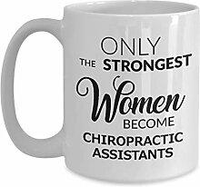 Becher für Chiropraktik-Assistenten - Nur die