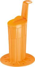 Becher für Eisglasur BAMBINI, orange