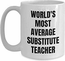 Becher für Ersatzlehrer - Kaffeetasse - Weltweit