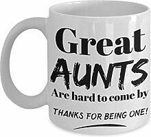 Becher für Tante. Bestes Weihnachtsgeschenk für