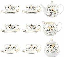 Becher Geschenk Tasse Kaffeetasse und Untertasse