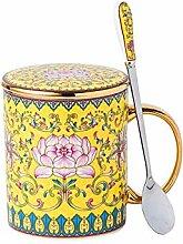 Becher Geschenk Tasse Knochen Porzellan Tasse mit