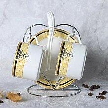Becher Geschenk Tasse Porzellan Kaffeetasse Set