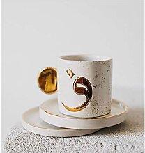 Becher Handgemachte Keramik Kaffeetassen Hohe