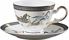 Becher Kaffeetassen Tassen Bone China Teetasse