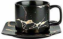 Becher Kaffeetassen Tassen Gold Keramik