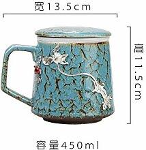 Becher Kaffeetassen Tassen Teetasse Kreative Inlay