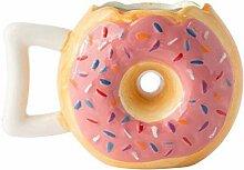 Becher Kaffeetassen Teetassen Mugs Donuts