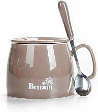 Becher Kaffeetassen Teetassen Mugs Grauer