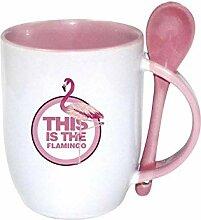 Becher Kaffeetassen Teetassen Mugs Löffel Tasse