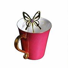 Becher Kaffeetassen Teetassen Mugs Vergoldeter