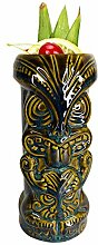 Becher Keramik 450ml Tiki-Becher Hawaiian Party