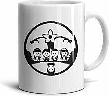 Becher Lustige Kaffeetasse Wasser Geschenk Keramik