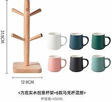 Becher Mit Deckel Löffel Keramik Tasse Teetasse