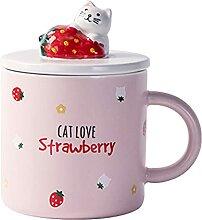 Becher Netter Katzenbecher für Kaffee oder Tee