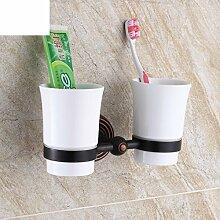 Becher/Retro Kupfer Bad Becher Zahnbürstenhalter