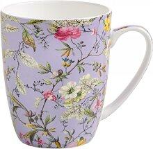 Becher, Tasse KILBURN WINTER BLOOM für 380ml lila Porzellan Maxwell & Williams (10,95 EUR / Stück)