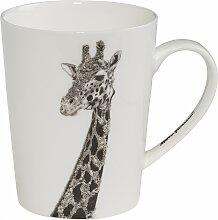 Becher, Tasse Marini Ferlazzo Giraffe 460ml