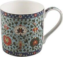 Becher, Tasse Owen Jones CLOISONNE für 230ml blau weiß rot Creative Tops (11,50 EUR / Stück)